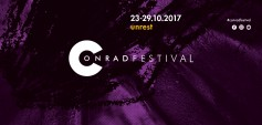 We know the programme of 2017 Conrad Festival