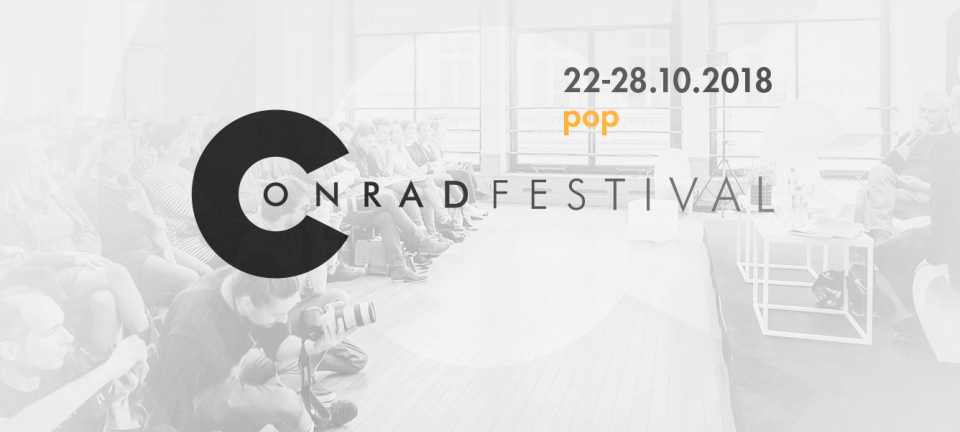 Presenting the first guests of the 2018 Conrad Festival