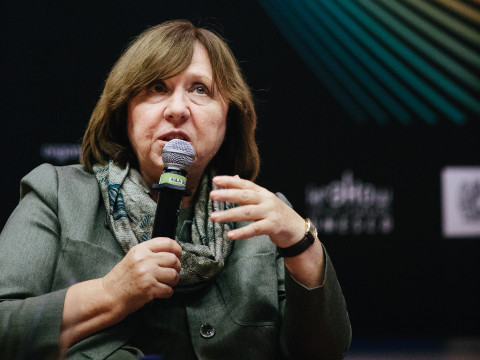 Russia's Unwomanly Face. A meeting with Svetlana Alexievich