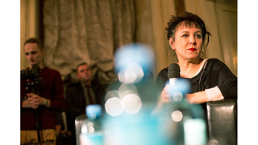 Meeting with Olga Tokarczuk, pic. Tomasz Wiech