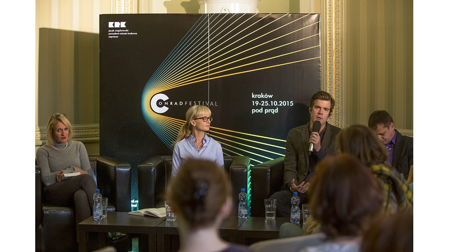 Read like in Sweden. Read like in Poland. Discussion: Gunnar Ardelius, Beata Stasińska, pic. Tomasz Wiech