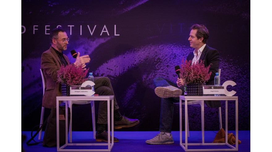 Conrad Festival 2017, The World after a Disaster. A meeting with Hugh Howey
