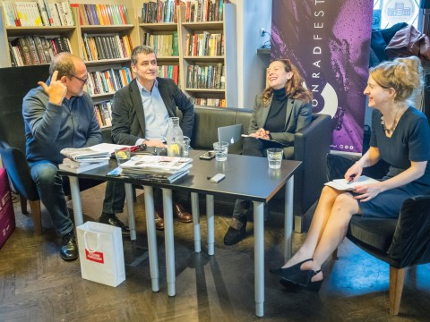 Conrad Festival 2017, Condition of literary criticism. Debate with critics
