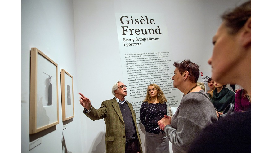 Gisele Freund - Exhibition opening, pic. Tomasz Wiech