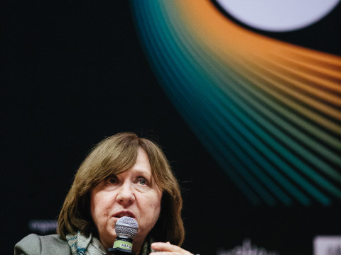 Meeting with Svetlana Alexievich, pic. Michał Ramus, www.michalramus.com
