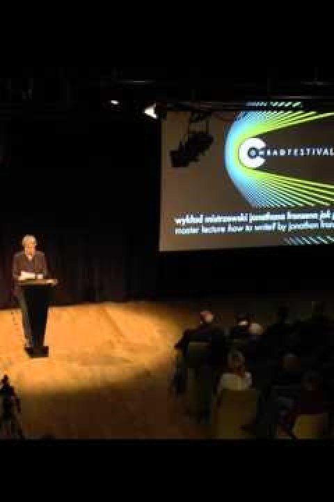 Conrad Festival 2015: The Conrad Award Ceremony and lecture by Jonathan Franzen