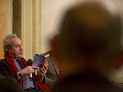 The Book of Evidence. Meeting with John Banville