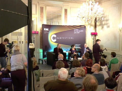 Conrad Festival 2015: Daily Life in literature. Discussion: Michał Olszewski, Piotr Siemion