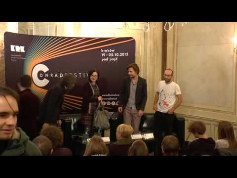 Conrad Festival 2015Ł The Traces of Judaism. Discussion: Agata Bielik-Robson, Adam Lipszyc, Przemysław Tacik