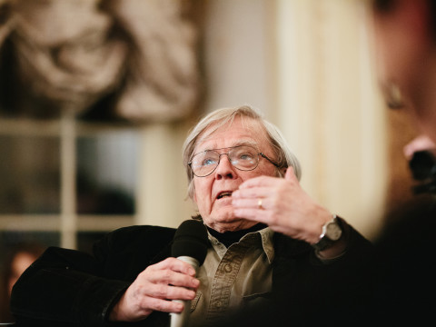 Postmodernism Is not What You Think. A meeting with Robert Coover, pic. Michał Ramus, www.michalramus.com
