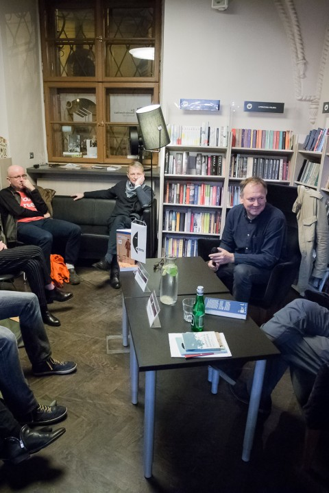 Conrad Festival 2017, Meeting with Cezary Łazarewicz, winner of Nike 2017