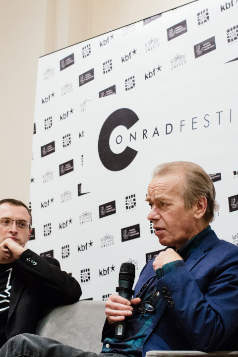 A meeting with Martin Amis,
